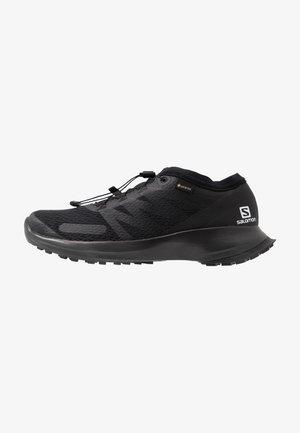 SENSE FLOW GTX - Trail running shoes - black