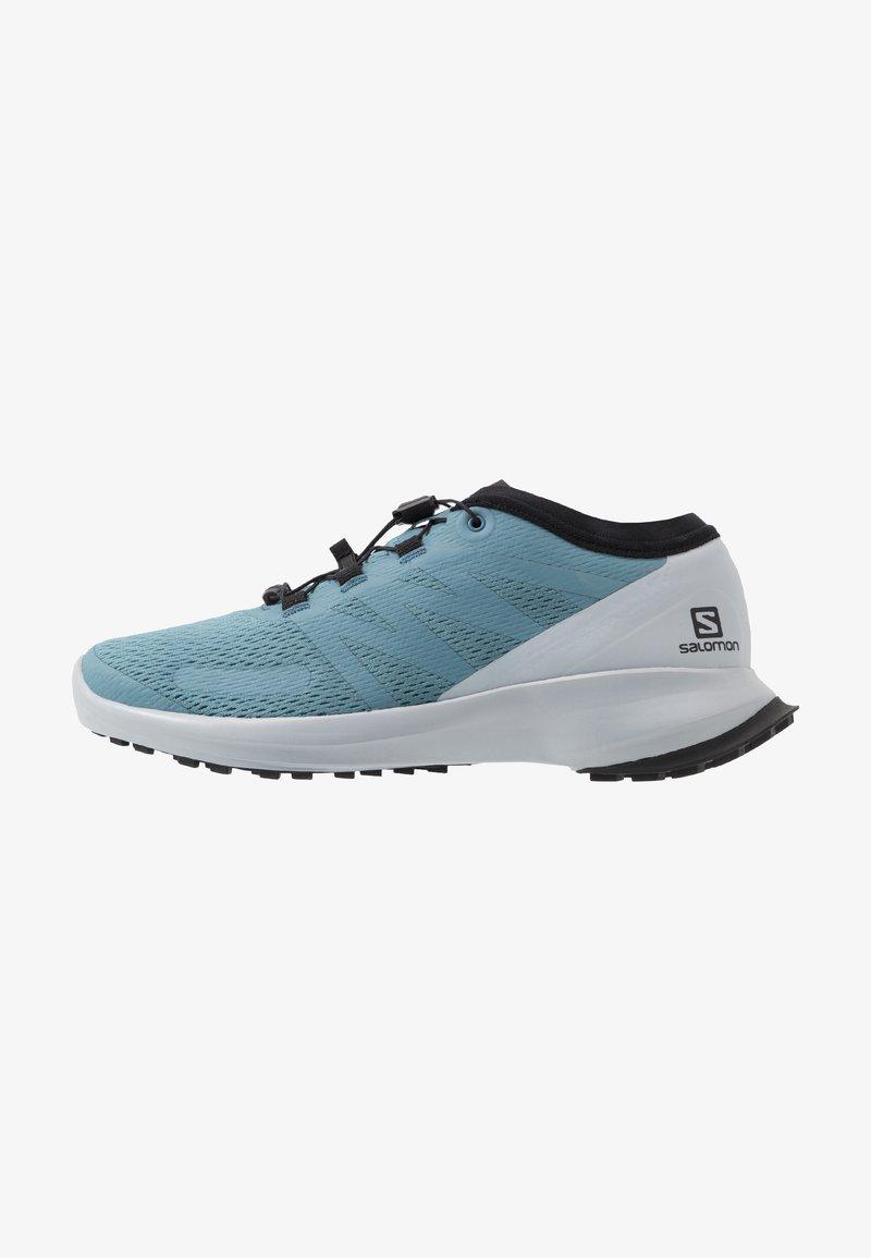 Salomon - SENSE FLOW - Obuwie do biegania Szlak - bluestone/pearl blue/lapis blue
