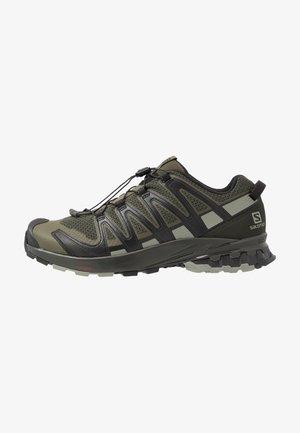 XA PRO 3D V8 - Hiking shoes - grape leaf/peat/shadow