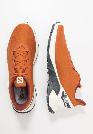 ALPHACROSS BLAST - Trail running shoes - umber/vanilla/ebony