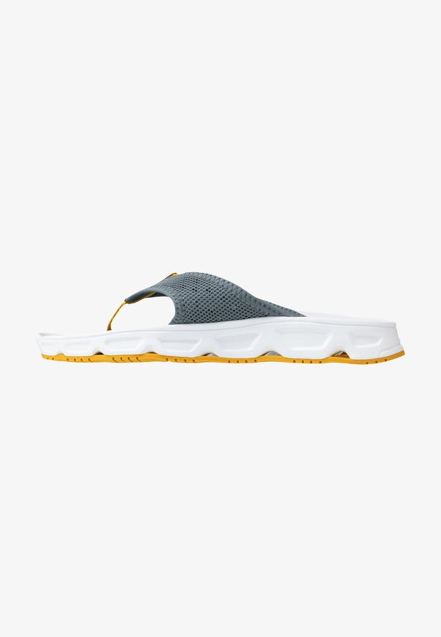RX BREAK 4.0 - T-bar sandals - stormy weather/white/arrowwood