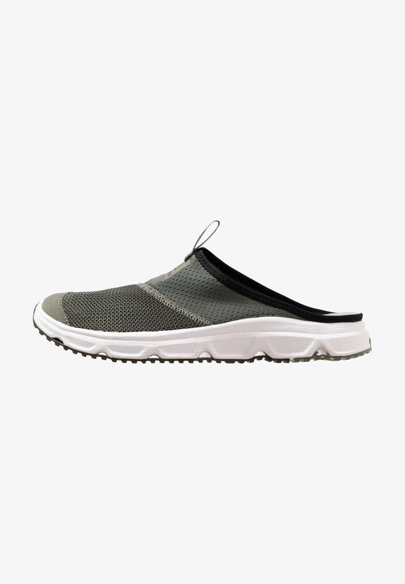 Salomon - RX SLIDE 4.0 - Walking sandals - castor gray/white/beluga