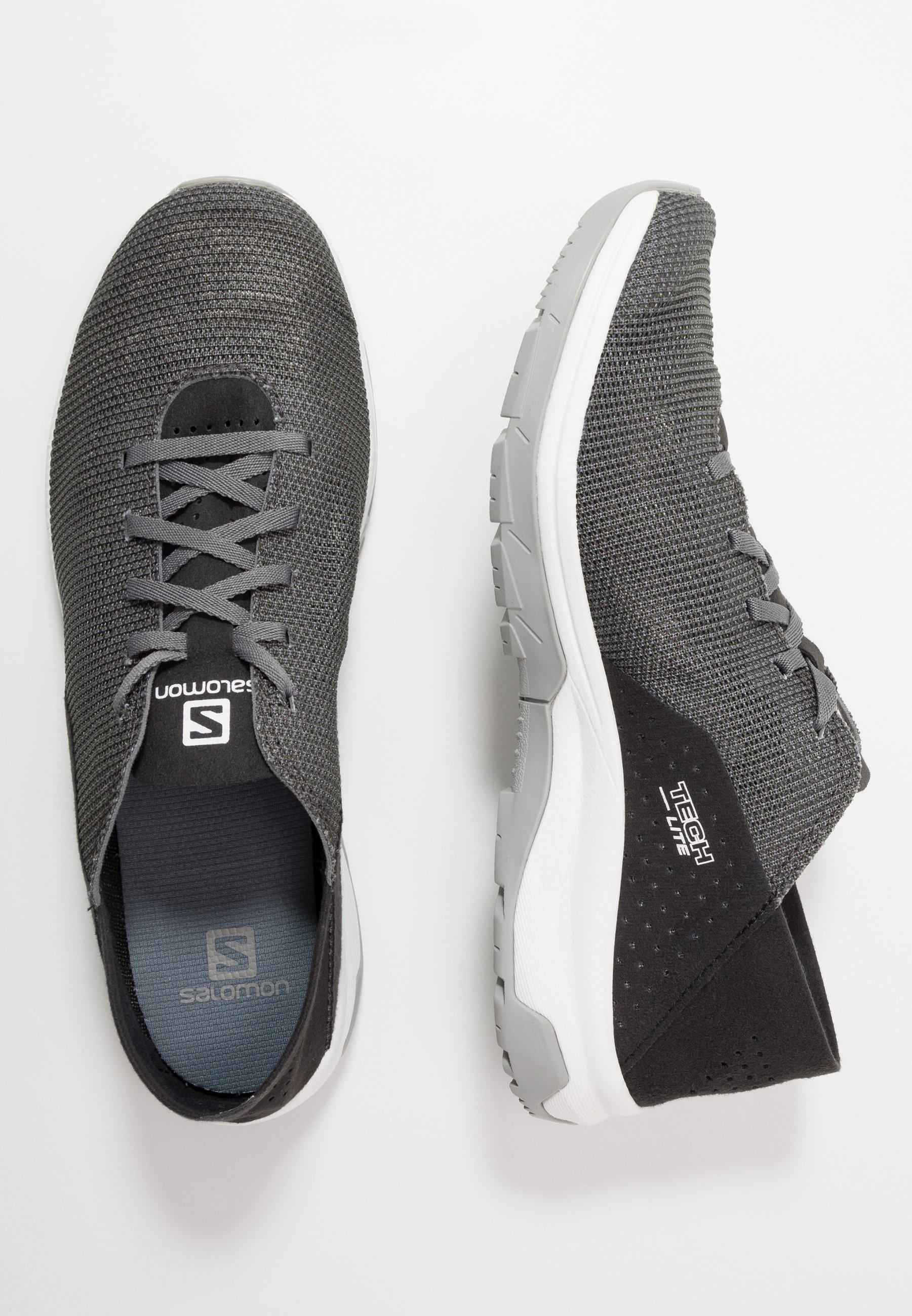 Salomon Tech Lite - Chaussures De Course Quiet Shade/black/alloy