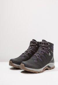 Salomon - QUEST WINTER GTX - Winter boots - phantom/black/vapor blue - 2