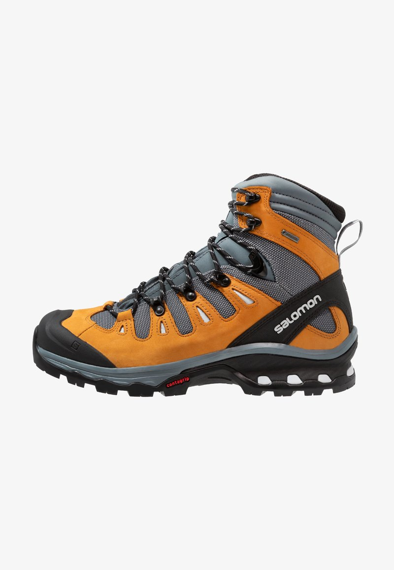 Salomon - QUEST 4D 3 GTX - Hikingschuh - cathay spice/stormy weather/pearl blue