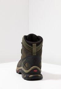 Salomon - QUEST 4D 3 GTX - Hiking shoes - grape leaf/peat/burnt olive - 3