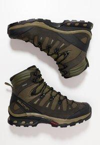 Salomon - QUEST 4D 3 GTX - Hiking shoes - grape leaf/peat/burnt olive - 1