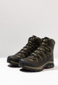 Salomon - QUEST 4D 3 GTX - Hiking shoes - grape leaf/peat/burnt olive - 2