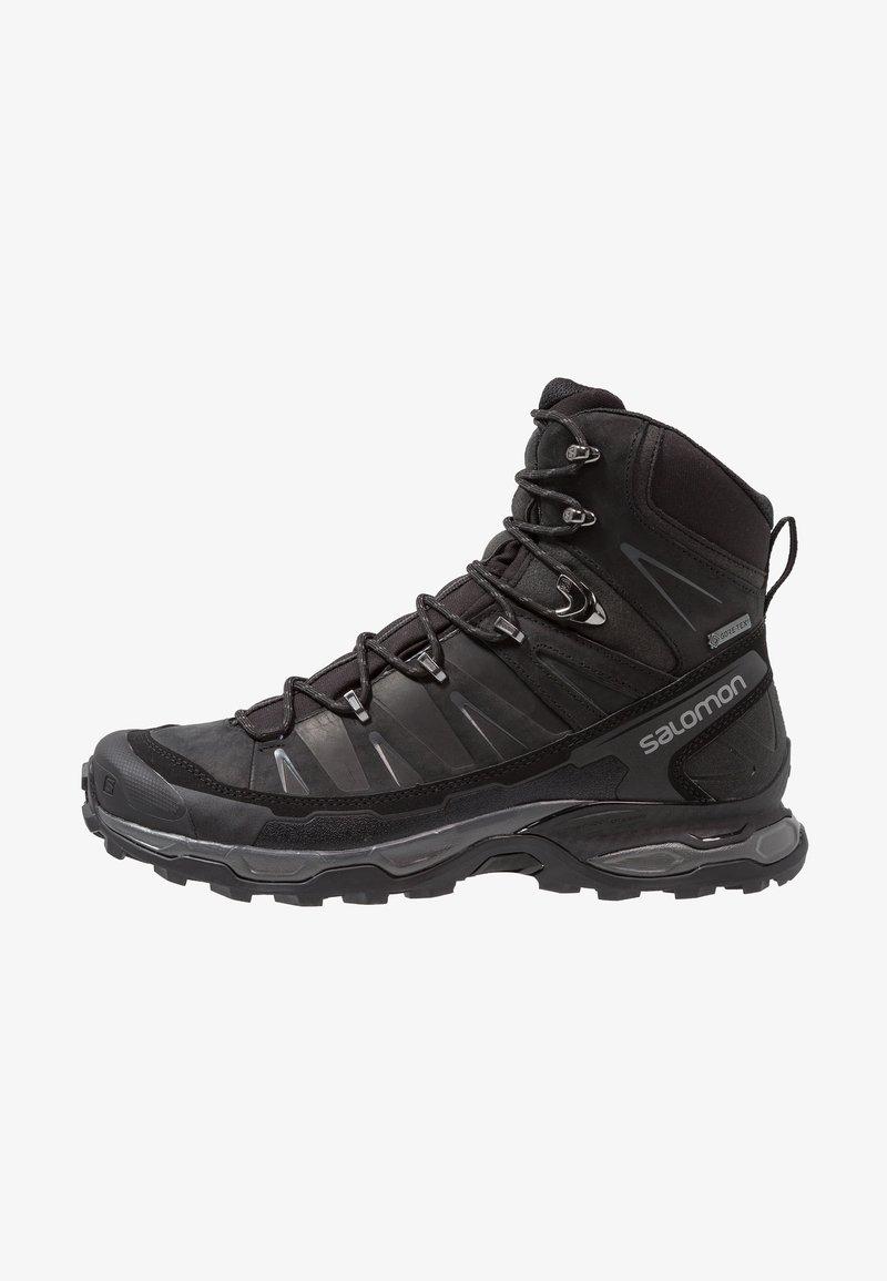 Salomon - X ULTRA TREK GTX - Hiking shoes - black/magnet