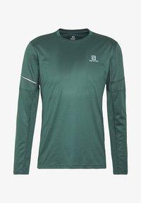 Salomon - AGILE TEE - Sports shirt - green gables - 4