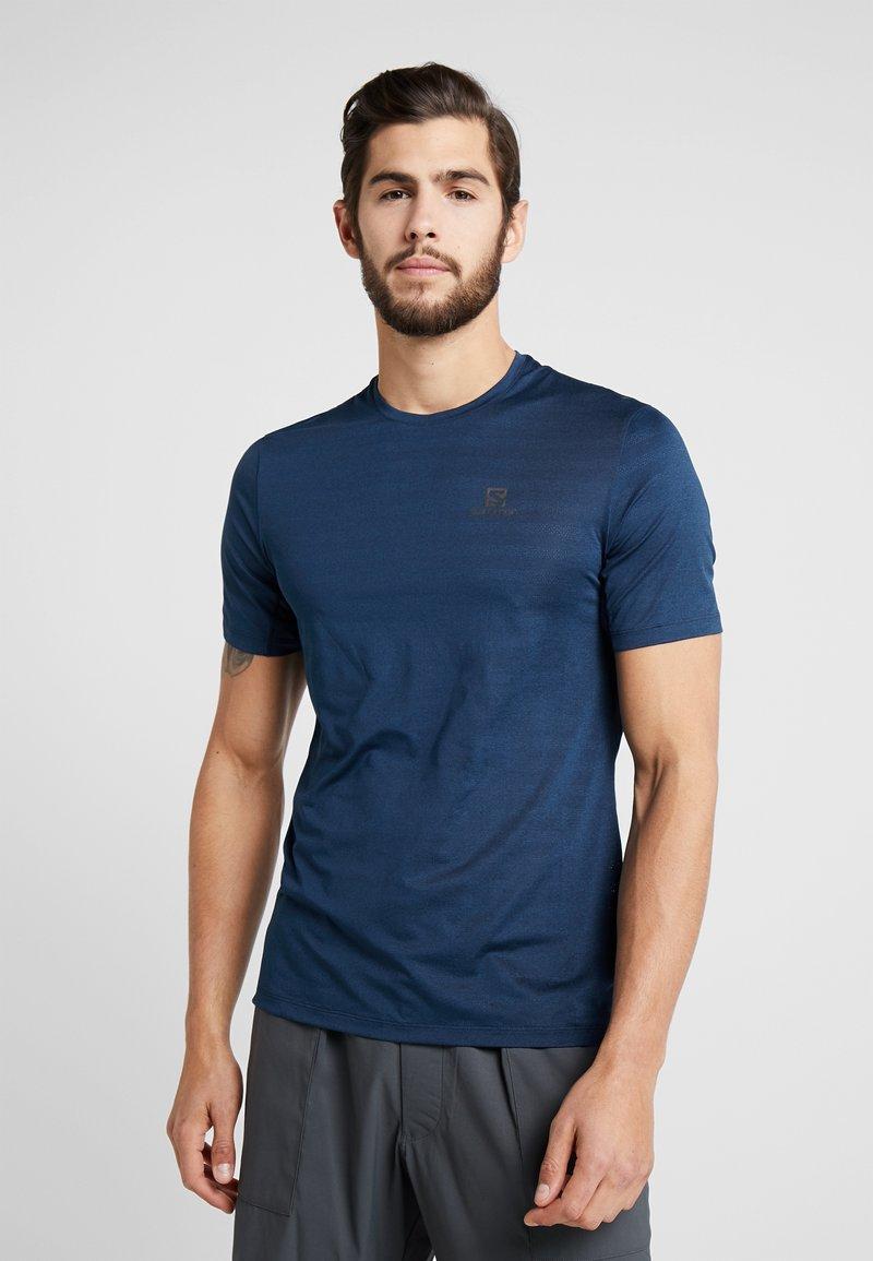 Salomon - TEE - Camiseta de deporte - poseidon