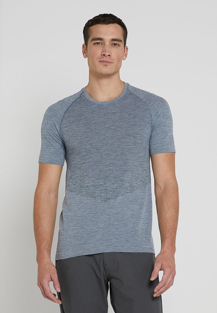 Salomon - ALLROAD SEAMLESS TEE - T-Shirt print - flint