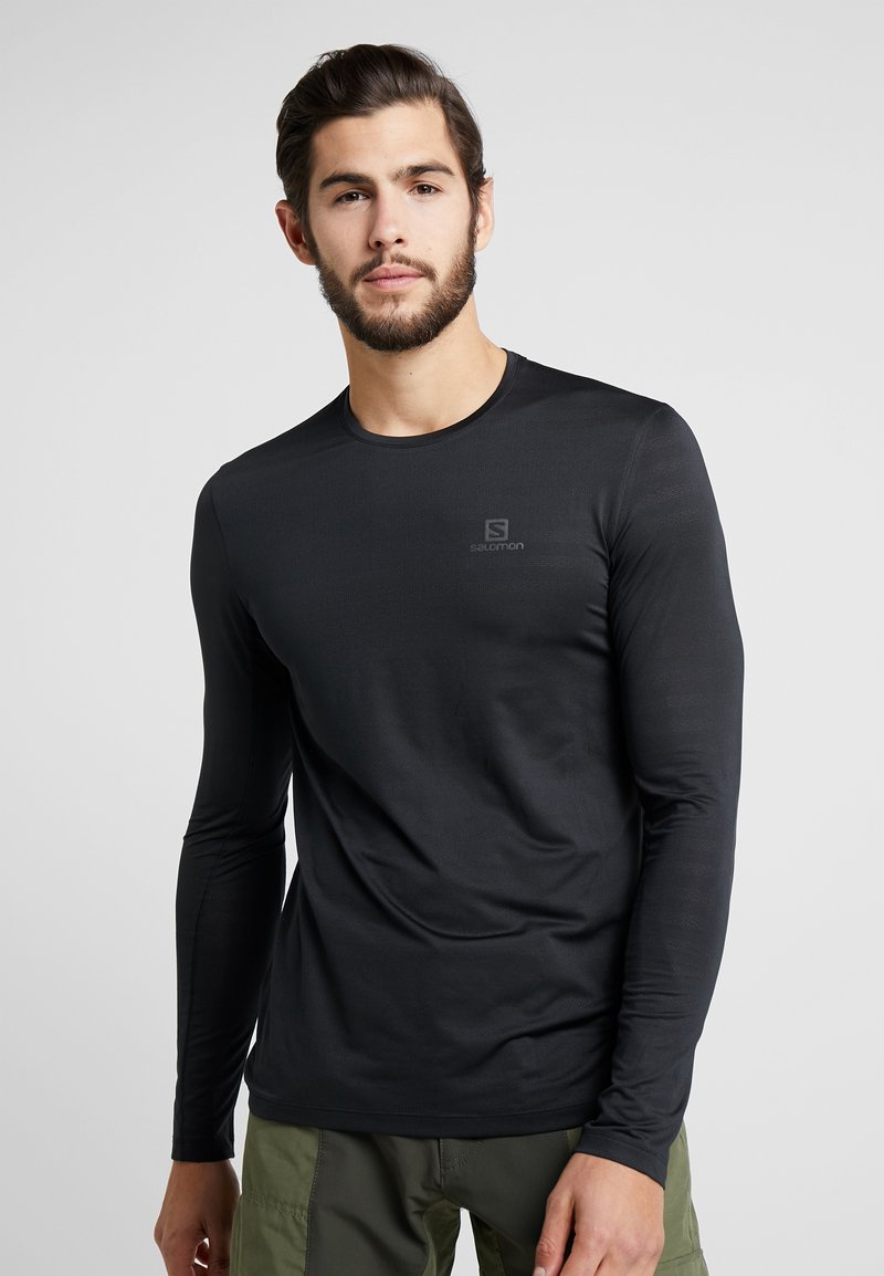 Salomon - XA TEE  - Funktionsshirt - black