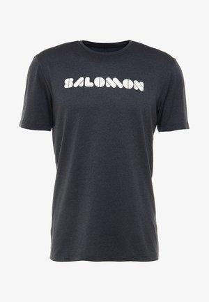 AGILE GRAPHIC TEE  - T-shirt imprimé - black