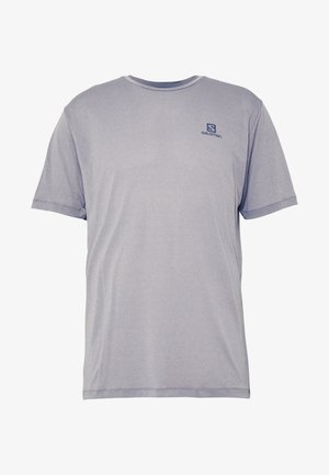 AGILE TRAINING TEE - T-shirt basic - alloy/heather