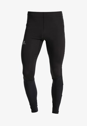 AGILE LONG - Legginsy - black