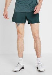 Salomon - AGILE SHORT  - Pantalón corto de deporte - green gables - 0
