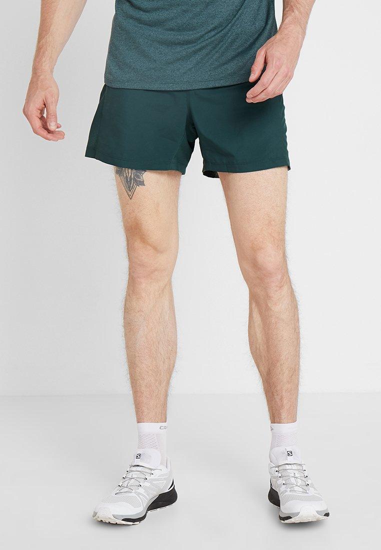 Salomon - AGILE SHORT  - Pantalón corto de deporte - green gables