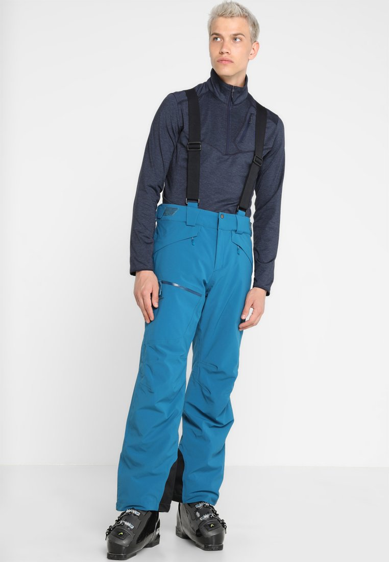 Salomon - CHILL OUT BIB PANT - Täckbyxor - moroccan blue