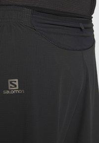 Salomon - SENSE - Pantalón corto de deporte - black - 5