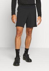 Salomon - SENSE - Pantalón corto de deporte - black - 0