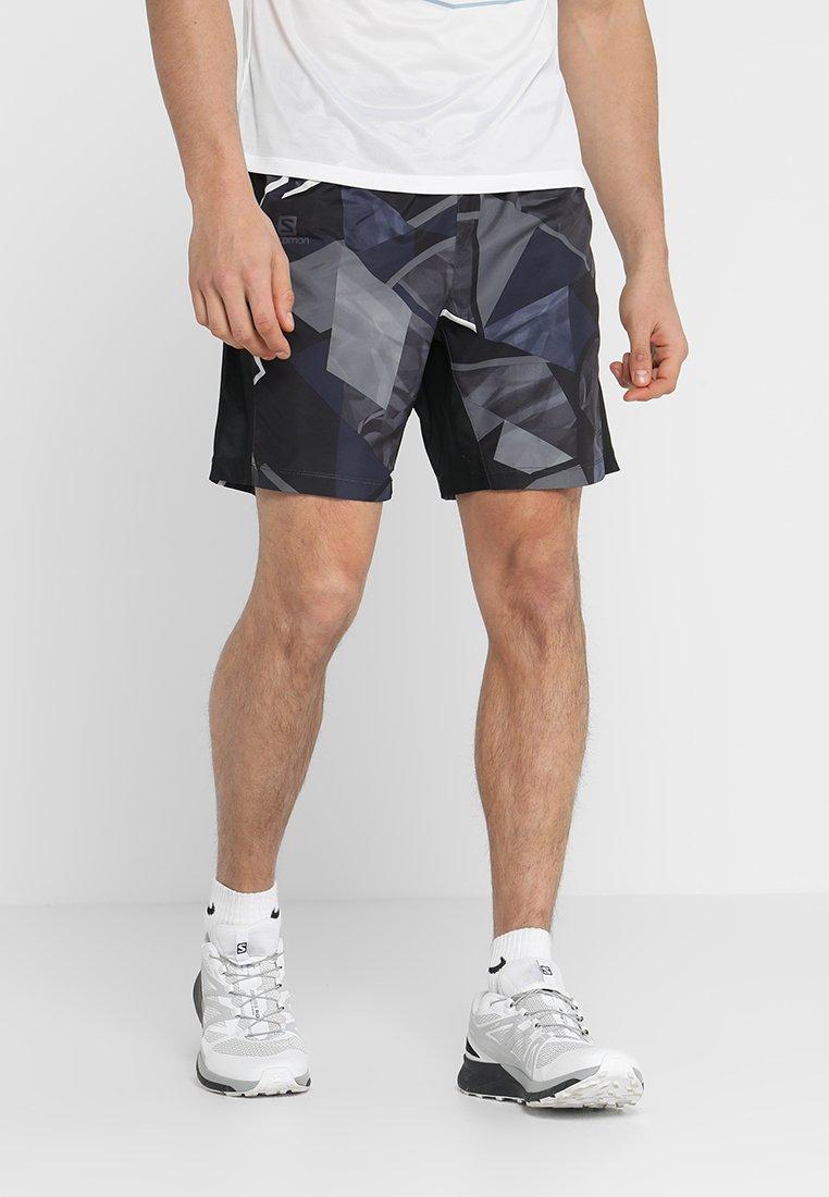 Salomon - AGILE 2IN1 SHORT  - Short de sport - quiet shade/black