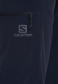 Salomon - WAYFARER TAPERED PANT - Długie spodnie trekkingowe - night sky - 5