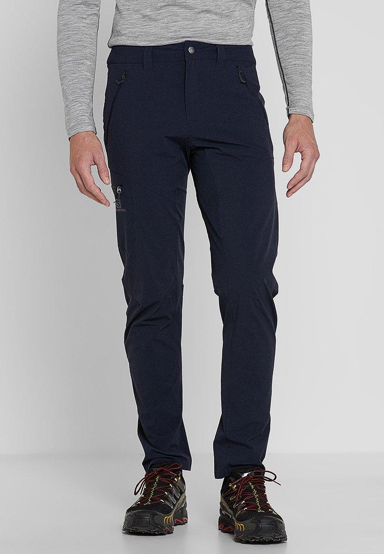 Salomon - WAYFARER TAPERED PANT - Pantalons outdoor - night sky