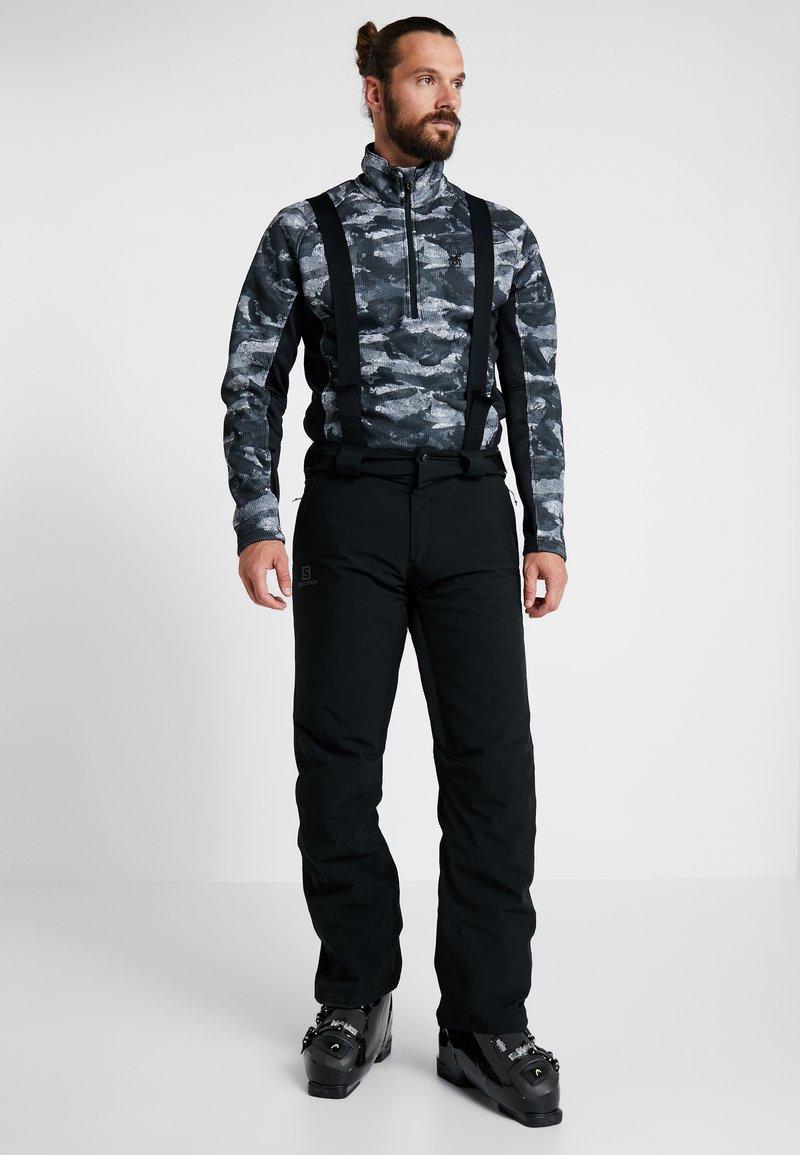 Salomon - STORMSEASON PANT - Snow pants - black