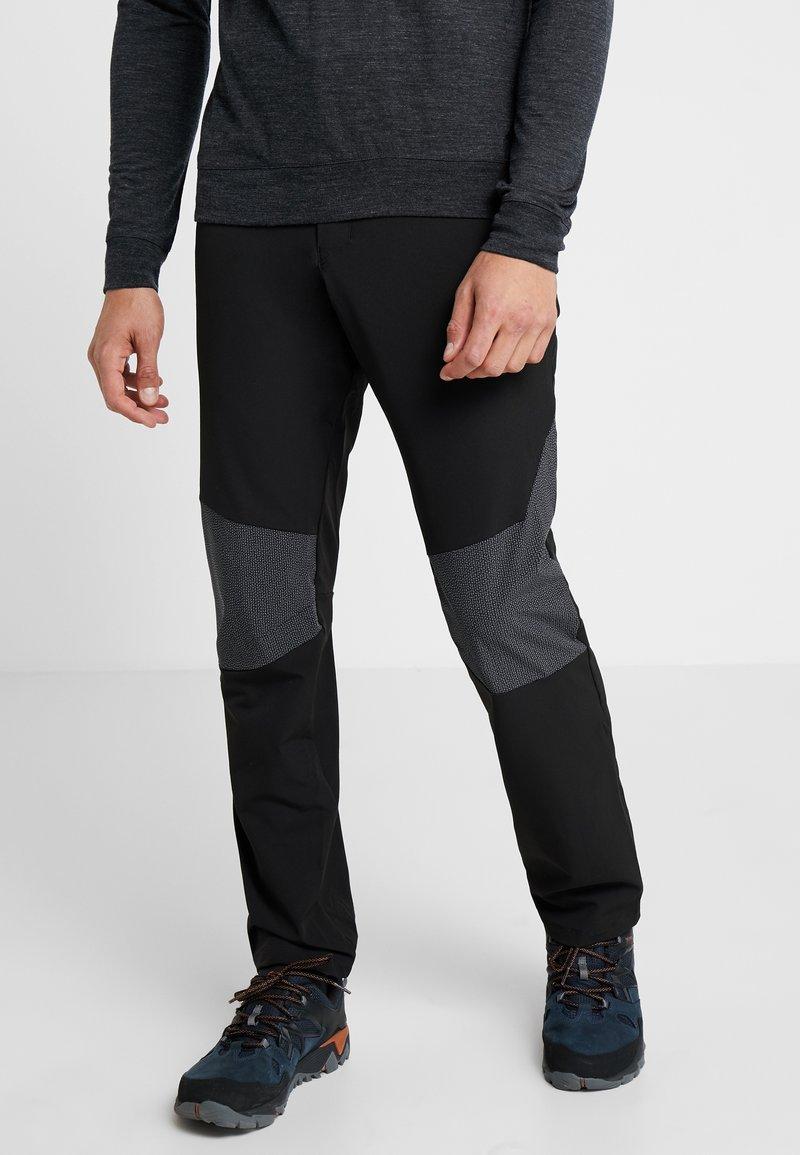 Salomon - WAYFARER ALPINE PANT - Trousers - black