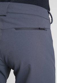 Salomon - WAYFARER WARM STRAIGHT PANT  - Trousers - ebony - 3