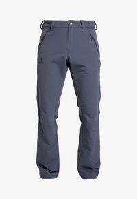 Salomon - WAYFARER WARM STRAIGHT PANT  - Trousers - ebony - 4