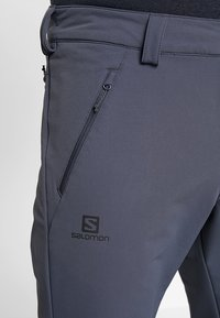Salomon - WAYFARER WARM STRAIGHT PANT  - Trousers - ebony - 5