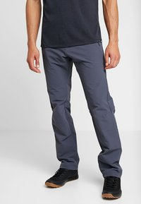 Salomon - WAYFARER WARM STRAIGHT PANT  - Trousers - ebony - 0