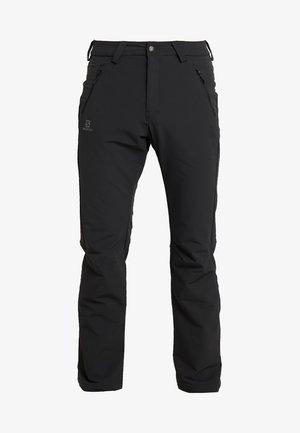 WAYFARER WARM STRAIGHT PANT  - Pantalon classique - black