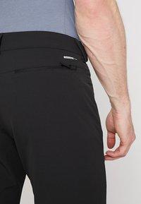 Salomon - WAYFARER WARM STRAIGHT PANT  - Pantaloni - black - 5