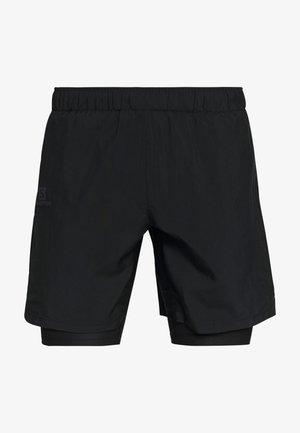 AGILE TWINSKIN SHORT  - Krótkie spodenki sportowe - black