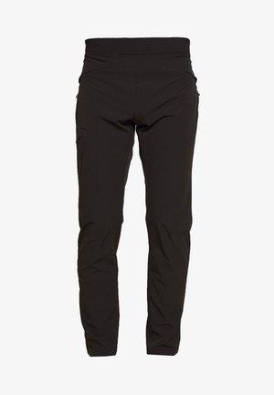 WAYFARER AS TAPERED PANT - Spodnie materiałowe - black