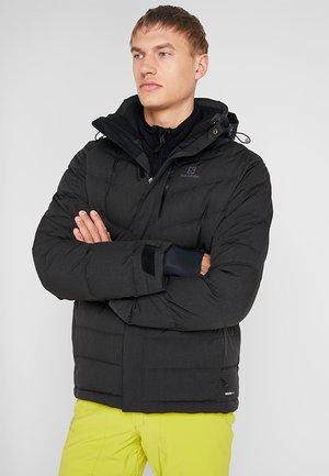ICETOWN JACKET - Snowboardová bunda - black