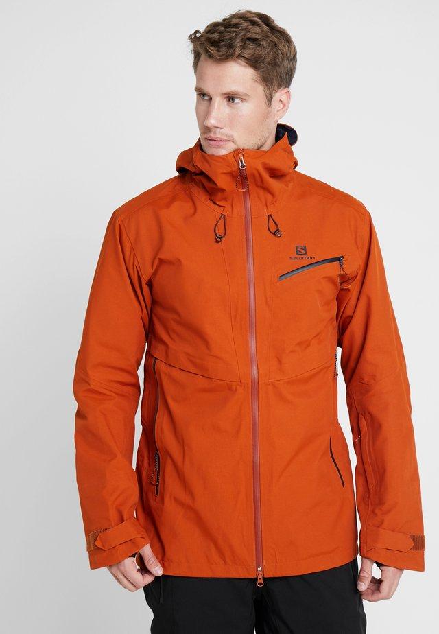 GUARD - Snowboard jacket - umber