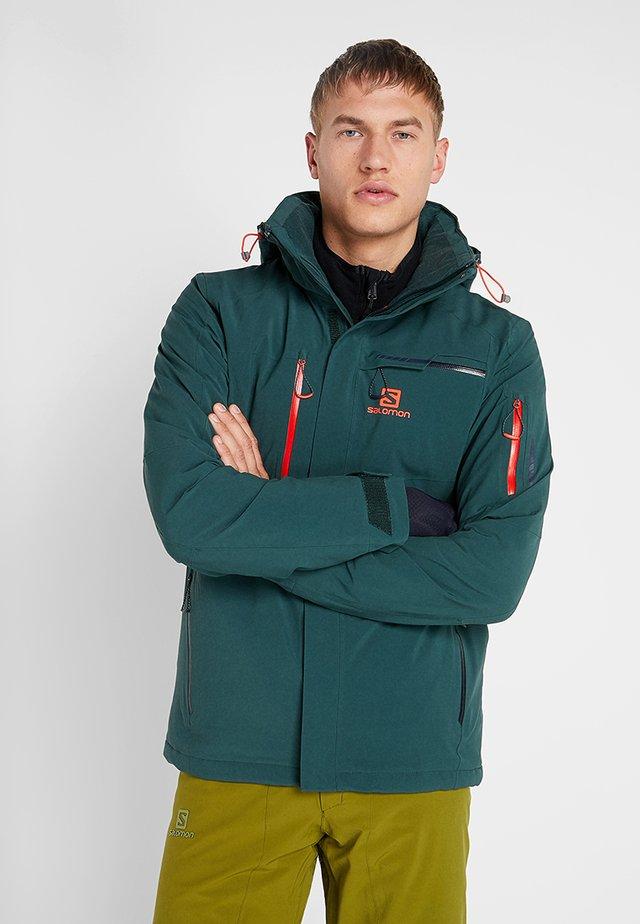 BRILLIANT - Ski jacket - green gables