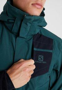 Salomon - STORMSTRONG  - Ski jacket - green gables - 8