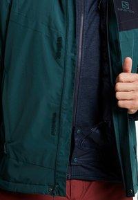 Salomon - STORMSTRONG  - Ski jacket - green gables - 6