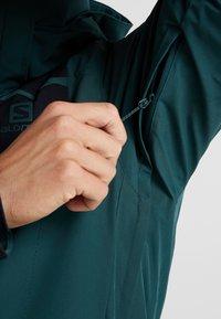 Salomon - STORMSTRONG  - Ski jacket - green gables - 5