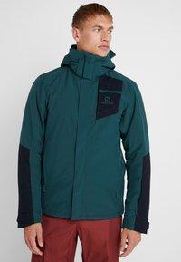Salomon - STORMSTRONG  - Ski jacket - green gables - 0