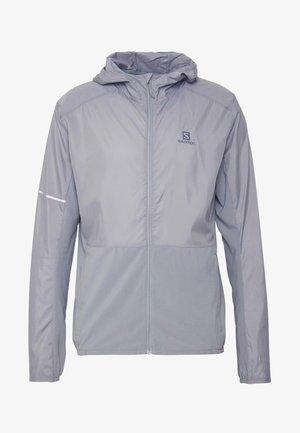 AGILE HOODIE - Outdoor jakke - alloy