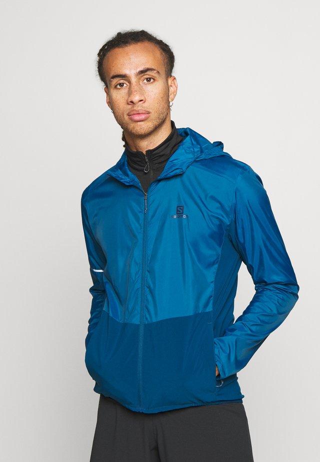 AGILE HOODIE - Outdoor jacket - poseidon