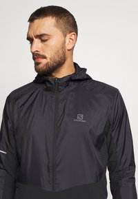 Salomon - AGILE HOODIE - Outdoor jacket - black - 3