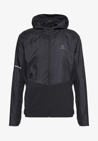 Salomon - AGILE HOODIE - Outdoor jacket - black - 5