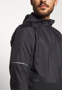 Salomon - AGILE HOODIE - Outdoor jacket - black - 6